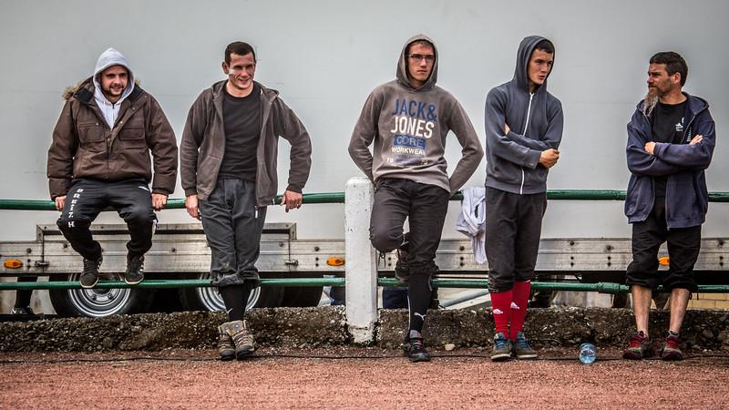 Scottish Backhold Wrestling Spectators
