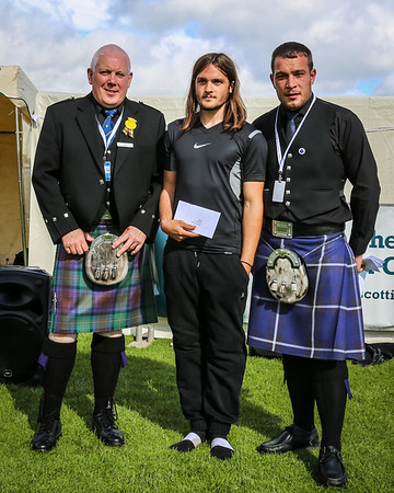 Scottish Backhold Wrestling Prize Winner