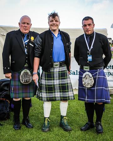 Scottish Backhold Wrestling Prize Winner - Scott Carson