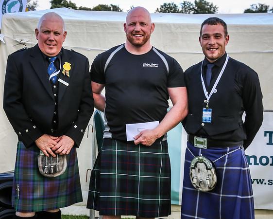 Scottish Backhold Wrestling Prize Winner: Ólafur Oddur Sigurðsson (Iceland)