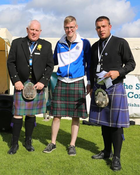Scottish Backhold Wrestling Prize Winner - Hjörtur Elí Steindórsson