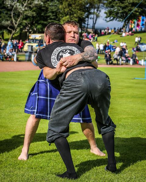 Backhold Wrestling (David Strachan & Breton Wrestler)