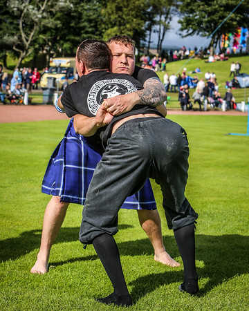 Backhold Wrestling (David Strachan & Breton Wrestler)