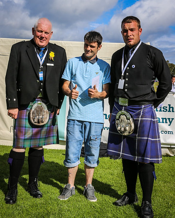 Scottish Backhold Wrestling Prize Winner - David Blair