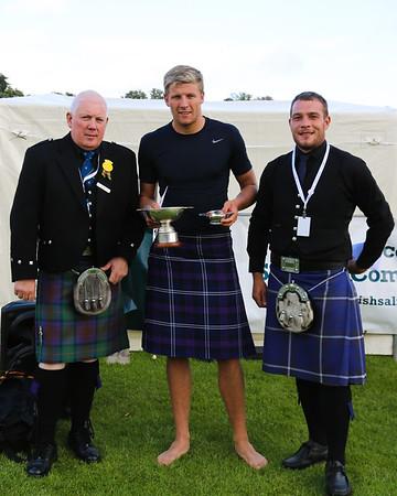 Scottish Backhold Wrestling Prize Winner - Ryan Dolan