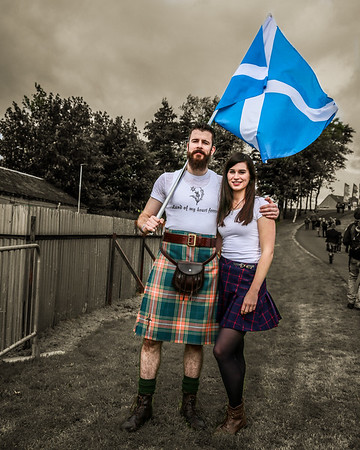 Saltire Kiltie gets the girl!