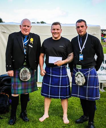 Scottish Backhold Wrestling Prize Winner - David Strachan - British 15st Back Hold Wrestling Silver Medalist