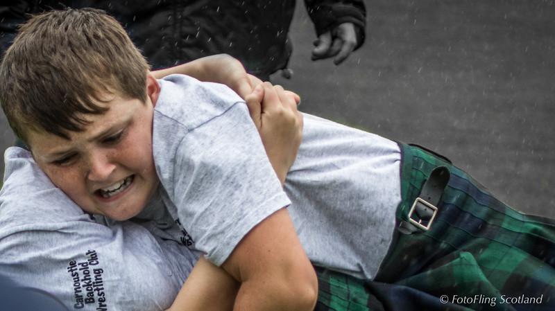 Kieran Kane - Scottish Backhold Wrestler (Junior)
