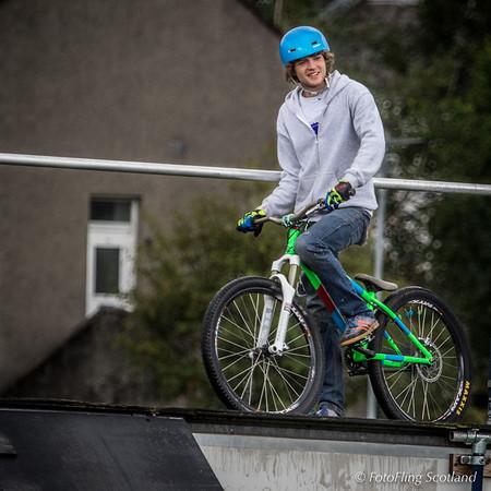 Clan Cycle Stunt Team Member