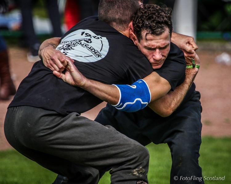 Gérald Brunou & Clément le Gall (Breton Wrestlers)