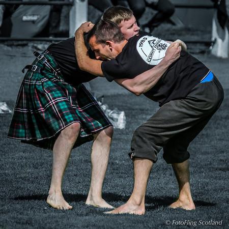 Backhold Wrestling:  Clément le Gall (Btittanny) v Hjörtur Elí Steindórsson (Iceland)