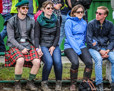 Highland Games Spectators