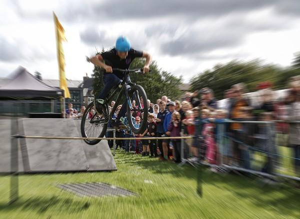 Stunt Cyclist