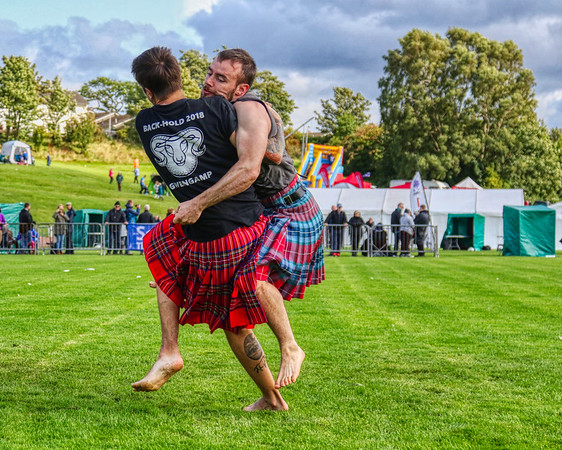 Backhold Wrestling: Paul Craig & Cameron Horne