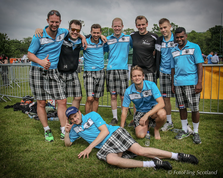 Kilted Dutch Football Team