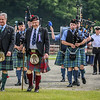Opening Parade led by Sir Malcolm Colquhoun of Luss and Sephton 'Mac' MacQuire