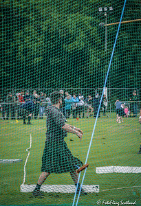 View through the Net: One Thrown Hammer