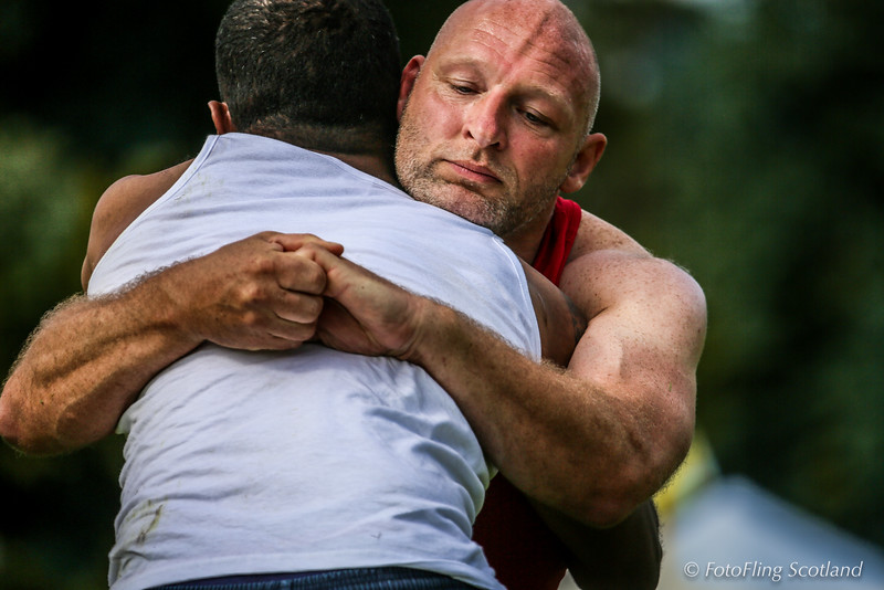 Scottish Backhold Wrestling at Inveraray Highland Games