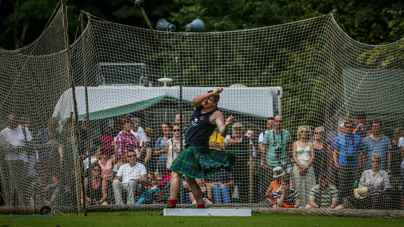 Hammer Throw by Lorne Colthart