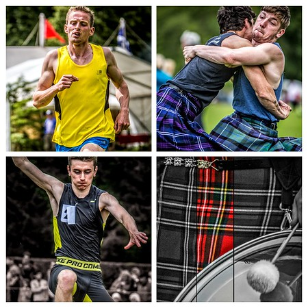 Inveraray Games Collage