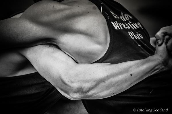 The Backhold Wrestler's Grip