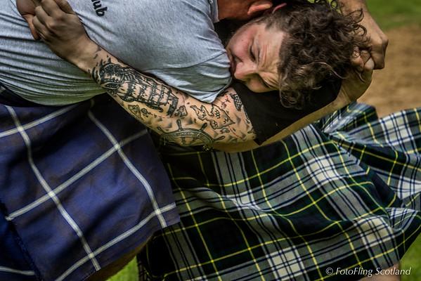 Scottishb Backhold Wrestling:  Scott Carson  & Frazer Hirsch