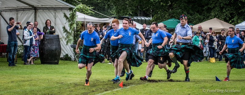Kilted dash