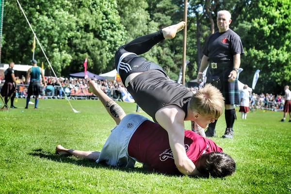 Backhold Wrestling: Ryan Ferrey & Cameron Horne