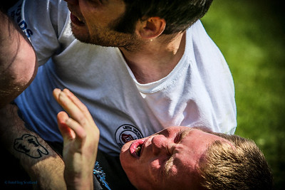 Scottish Backhold Wrestling at Loch Lomond Highland Games 2013