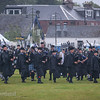 Pipeband in rain