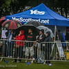 Despite rain Yes Scotland far from washed out