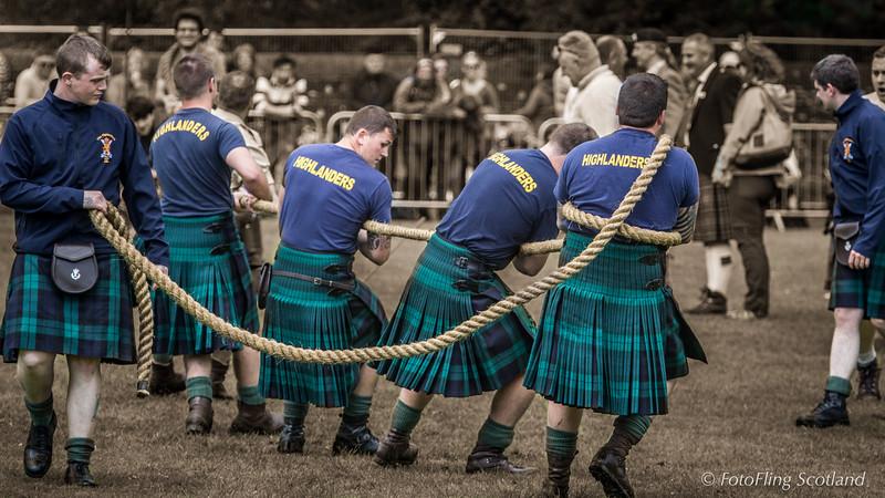 Roped Up Highlanders