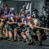 Highlanders' Tug O War Team