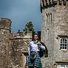 Kiltie at the Castle