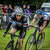 Cyclists: Stephen Jackson  & James Melville