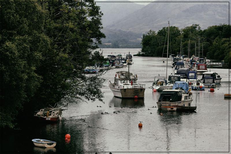 River Leven at Balloch