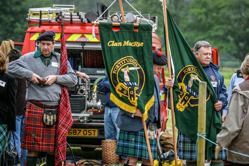 Clan MacRae at Loch Carron Highland Games