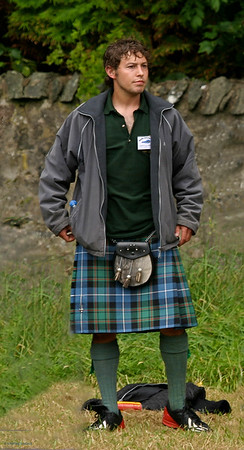 Kilted Pose