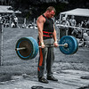 Powerlifting at Luss Highland Games 2013