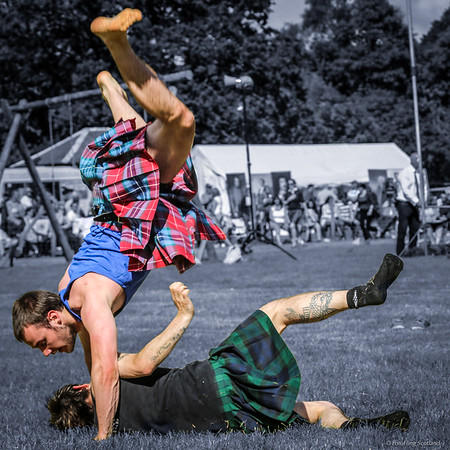 Kilted Cartwheel