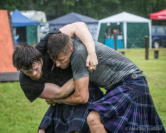 Scottish Backhold Wrestling: Ryan Dolan & Max Freyne