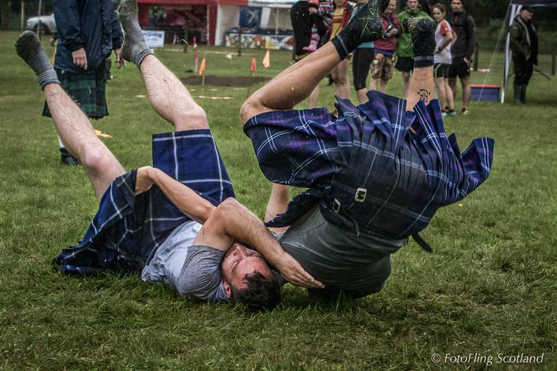 Scottish Backhold Wrestling: Ryan Dolan & Frazer Hirsch
