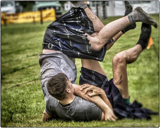 Scottish Backhold Wrestlers:   Ryan Dolan & Frazer Hirsch
