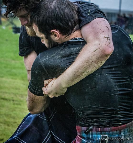 Scottish Backhold Wrestling: Max Freyne & Paul Craig