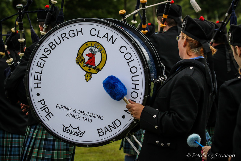 Helensburgh - Clan Colquhoun Pipeband