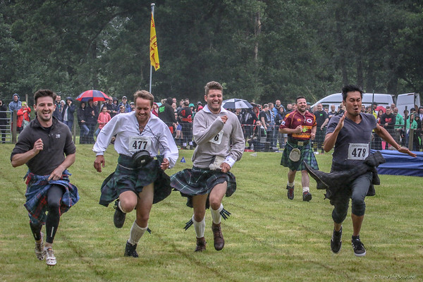 The 2017 Luss Highland Games