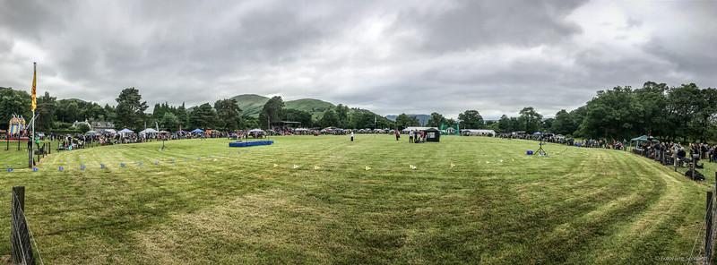 Ganes Field Panorama