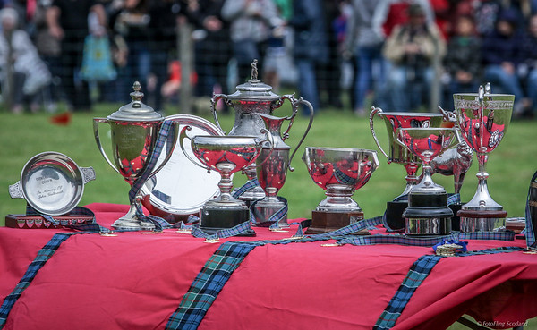 Highland Games Medals and Cups