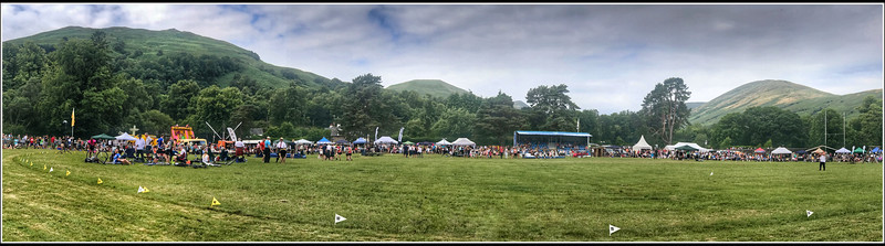 Luss Highland Games Panorama