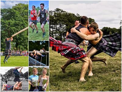 Luss Highland Gathering Collage